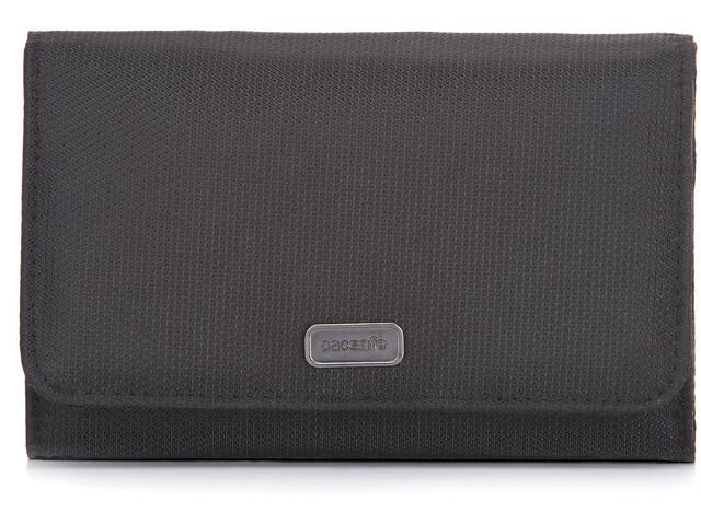 Pacsafe Daysafe Trifold Wallet Black